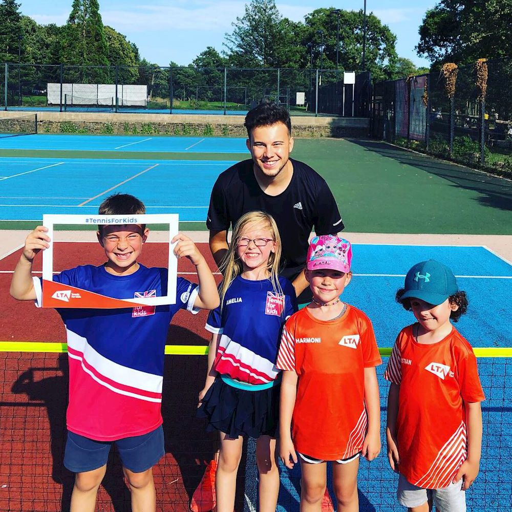 Dominic Smith Tennis Coaching